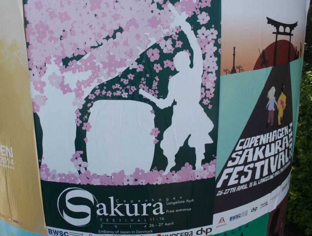Copenhagen Sakura Festival, Langelinie