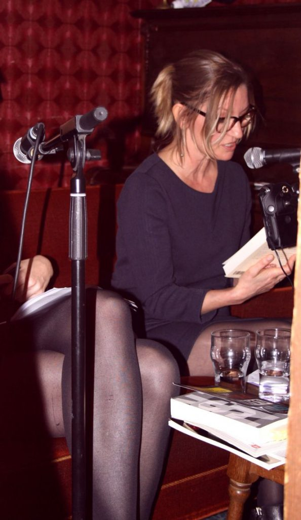 Café Retro, The Red Couch, Naja Marie Aidt, reading session